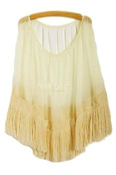 1st fashion Női divat strandtop, Bézs, One size