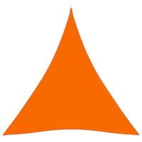 vidaXL narancssárga háromszög alakú oxford-szövet napvitorla 4 x 4 x 4 m