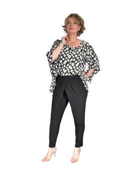 Pantalon dama, FeelFree Fashion, MISS P052, Lung