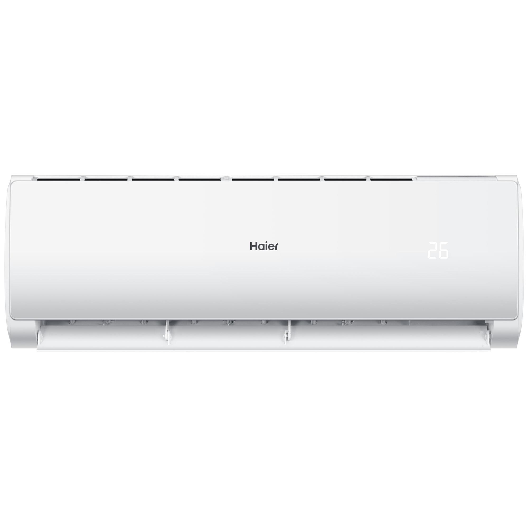 Fotografie Aparat de aer conditionat Haier 18000 BTU Wi-Fi, Self-Clean, Auto Restart, Turbo Cooling, Clasa A++, Alb, AS50TDMHRA-C/1U50MEMFRA-C