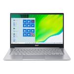 Лаптоп Acer Swift 3 SF314-59-36W3 с Intel Core i3-1115G4 (3.0/4.1GHz, 6M), 8 GB, 256GB M.2 NVMe SSD, Intel UHD Graphics Xe, Windows 10 Home 64-bit, Сребрист