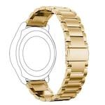 Метална верижка Ka Digital 22mm за Huawei Watch 3/GT/GT2/GT2 Pro , Smasung Galaxy Watch 3, Samsung Gear 3 Frontier, Златиста