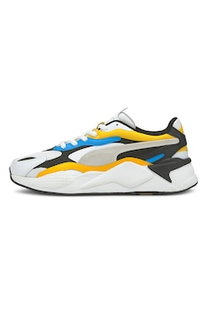 Puma, RS-X³ Prism sneaker, Fehér/Fekete/Sárga