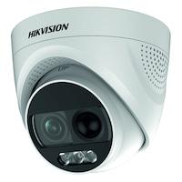 HikVision ColorVU Analog HD megfigyelő kamera, 2MP felbontás, 2.8mm objektív, infravörös, riasztó
