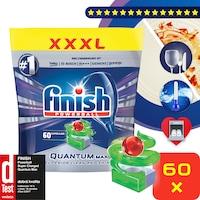Finish Quantum Max alma és lime mosogatógép-tabletta 60 db