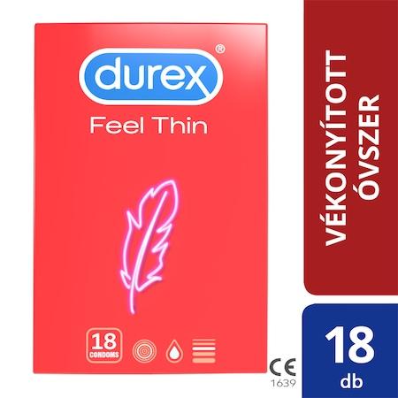 Durex Feel thin Óvszer, 18 db