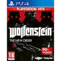 Wolfenstein: The New Order (playstation Hits) PlayStation 4 Játékszoftver