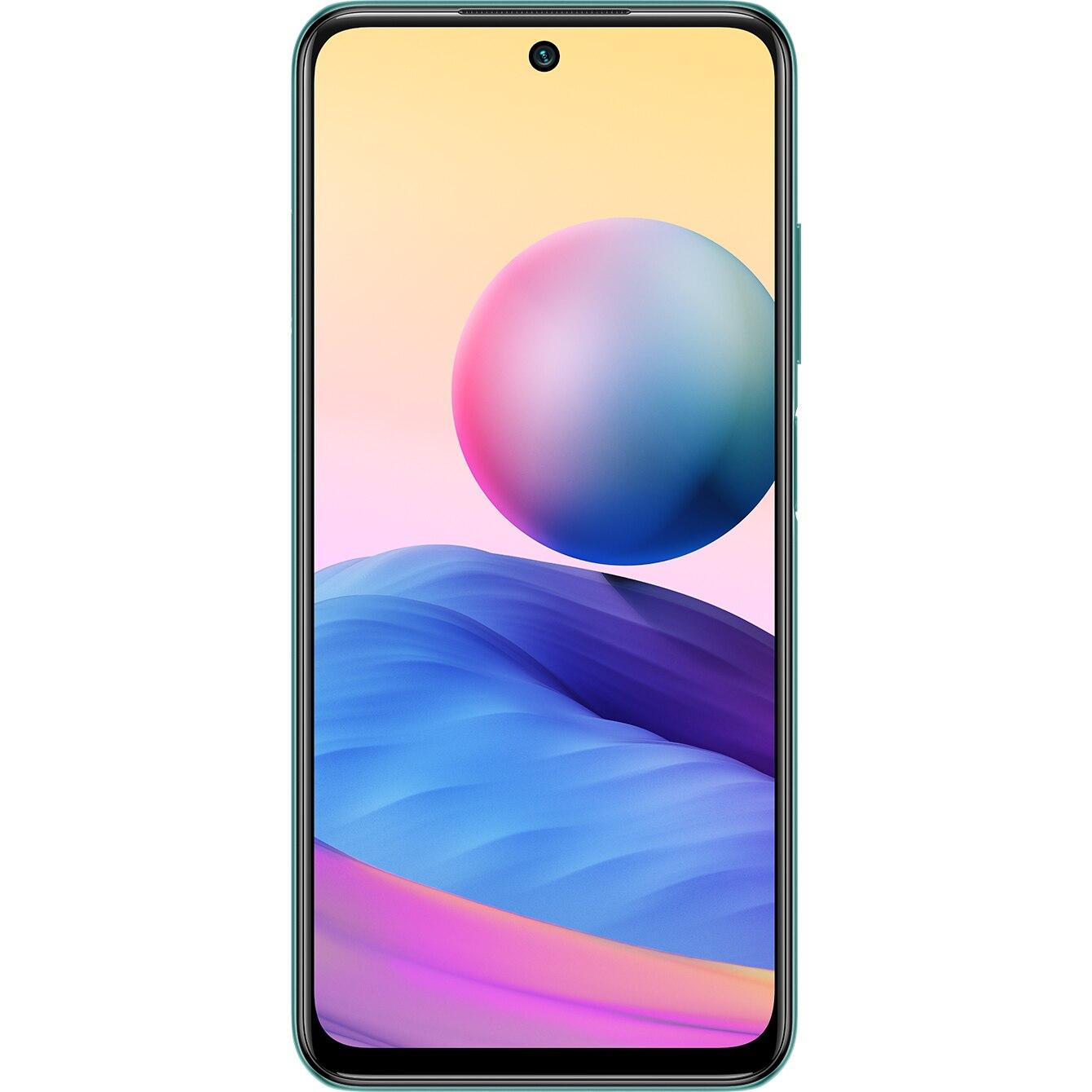 Fotografie Telefon mobil Xiaomi Redmi Note 10, Dual SIM, 128GB, 5G, Aurora Green