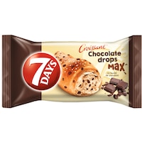 Croissant cu bucati de ciocolata 70g 7Days