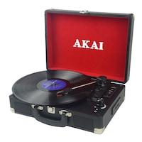 AKAI ATT-E10 Lemezlejátszó, Fekete