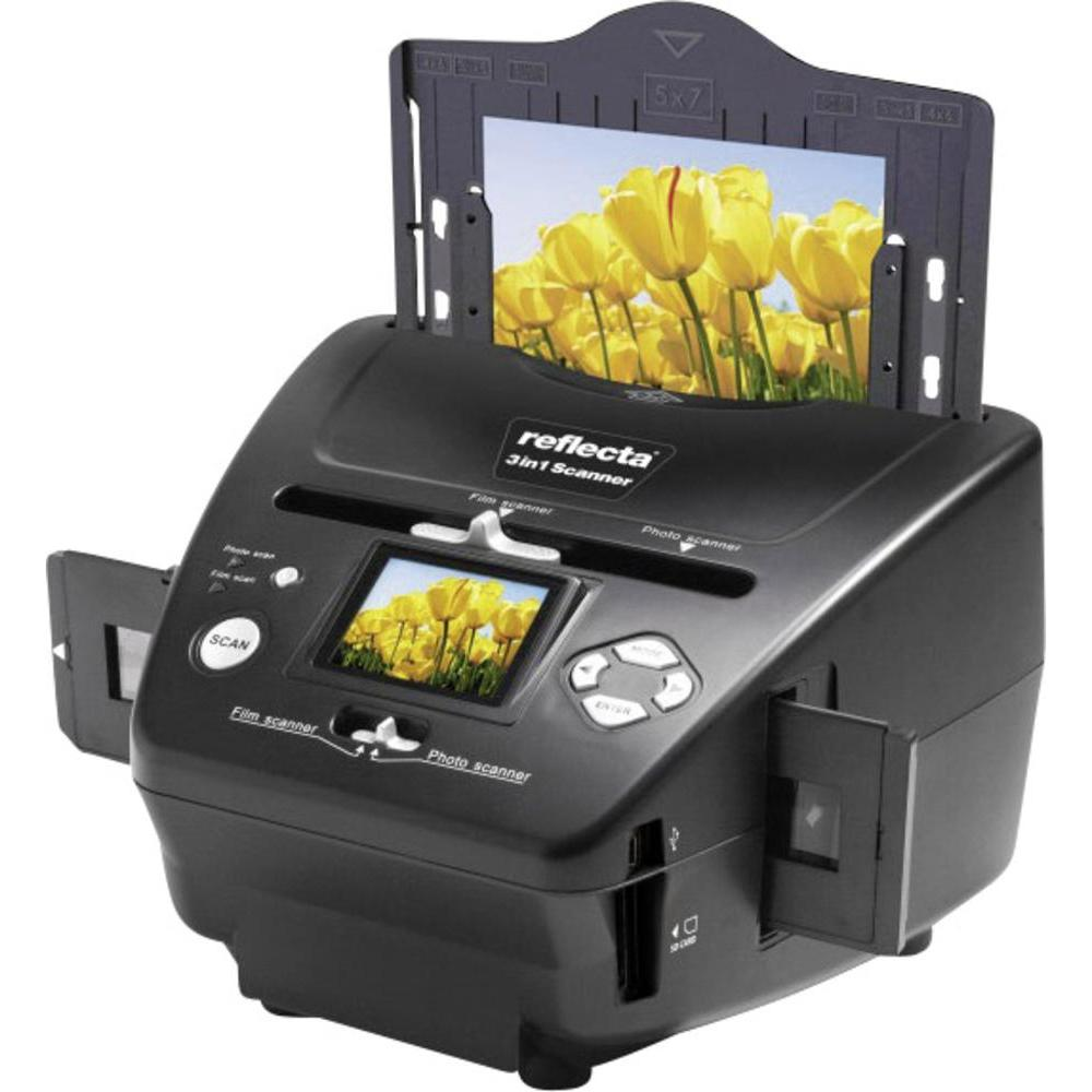Fotografie Scannere Reflecta 3-in-1 photo si film, LCD display