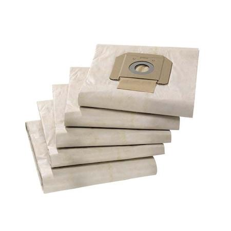 Комплект 5 торби Karcher 6.904-285.0 за прахосмукачка Karcher NT65/2, 3 пласта, Филтър, Използваема гама NT42/65/70/75