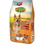 Суха храна за кучета Skipper, Телешко и зеленчуци, 3 кг