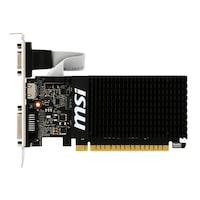 Placa video MSI GeForce® GT 710, 1GB DDR3, 64-bit