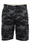 Мъжки къси панталони Afs Fashion 16447381, CARGO, Камуфлажен дизайн, W38/2XL