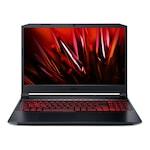 Лаптоп Acer Nitro 5 AN515-57-70QZ с Intel Core i7-11800H (2.4-4.6GHz,24M), 32 GB, 512GB M.2 NVMe SSD, NVIDIA RTX 3050 Ti 4GB GDDR6, Linux, Черен