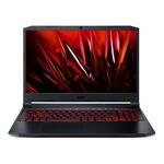 Лаптоп Acer Nitro 5 AN515-57-70QZ с Intel Core i7-11800H (2.4-4.6GHz,24M), 8 GB, 512GB M.2 NVMe SSD, NVIDIA RTX 3050 Ti 4GB GDDR6, Linux, Черен