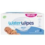 Мокри кърпички Bio Water Wipes, 9 пакета x 60 броя, 540 броя