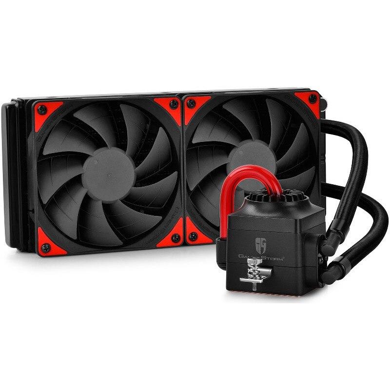 Fotografie Cooler Procesor Deepcool Captain 240 EX, Compatibil Intel / AMD