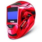 Telwin VANTAGE RED XL MMA/MIG-MAG/TIG automata fényresötétedő hegesztőpajzs, piros fejpajzs, DIN 5-13