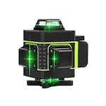 Лазерен нивелир Hilda LS4, Зелени линии, 4D, Самонивелиращ, Обхват 25м, Магнитна стойка