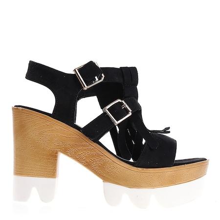 Дамски сандали Cary черни, 37