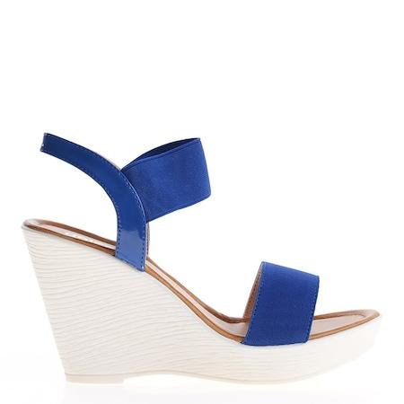 Дамски сандали Aleta сини, 39