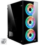Sistem Desktop PC Gaming Serioux cu procesor Intel® Core™ i5-10400F pana la 4.30GHz, 16GB DDR4, 500GB SSD, GeForce® GTX 1660 6GB GDDR5, No OS