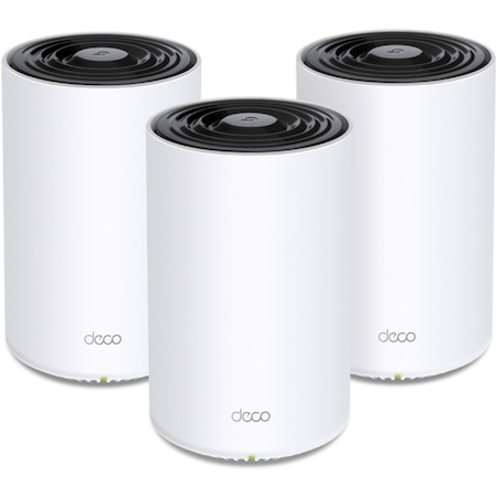 Sistem Mesh TP-Link Deco X68(3-pack) Wi-Fi 6 Dual-Band Gigabit AX3600, cu acoperire completa pentru casa