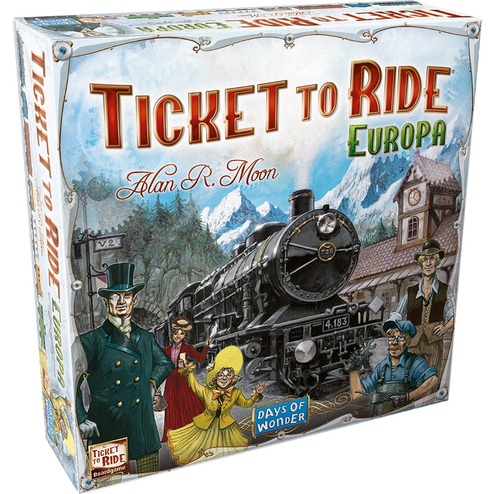 Fotografie Joc Asmodee - Ticket to Ride Europe