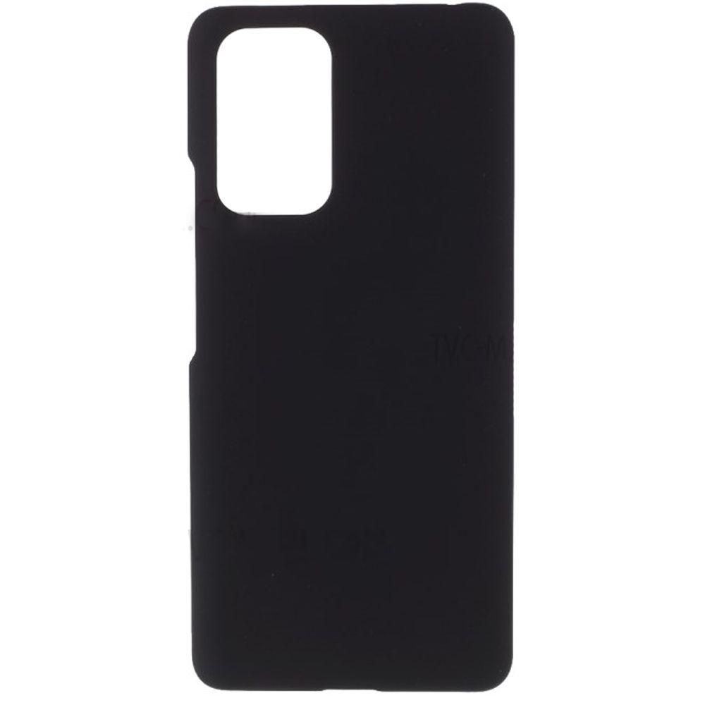 Fotografie Husa de protectie Lemontti Silicon Silky pentru Xiaomi Redmi Note 10 5G, Negru