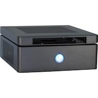 Inter-Tech ITX-603 HTPC számítógépház, 60W, Fekete