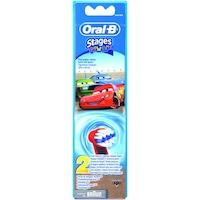 Резерва за детска електрическа четка за зъби Oral-B Frozen EB10-2, 2 броя, Червен