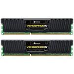 Памет Corsair 8GB (2 x 4GB), DDR3, 1600MHz, Dual Channel, Черен радиатор