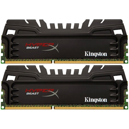 Памет Kingston HyperX BEAST 8GB (2x4GB), DDR3, 1600MHz, CL9, 1.65V, XMP