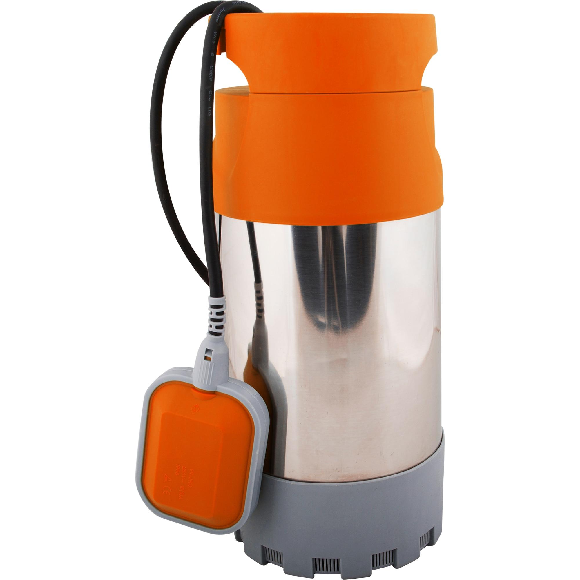 Fotografie Pompa submersibila din inox pentru apa murdara EVOTOOLS 4P-EPTO, 1000 W, 5500 l/h debit apa, 40 m inaltime refulare