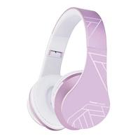 PowerLocus P2 Bluetooth fejhallgató, 85DB Csökkentett hangerőszint, gyerekeknek , Ibolya