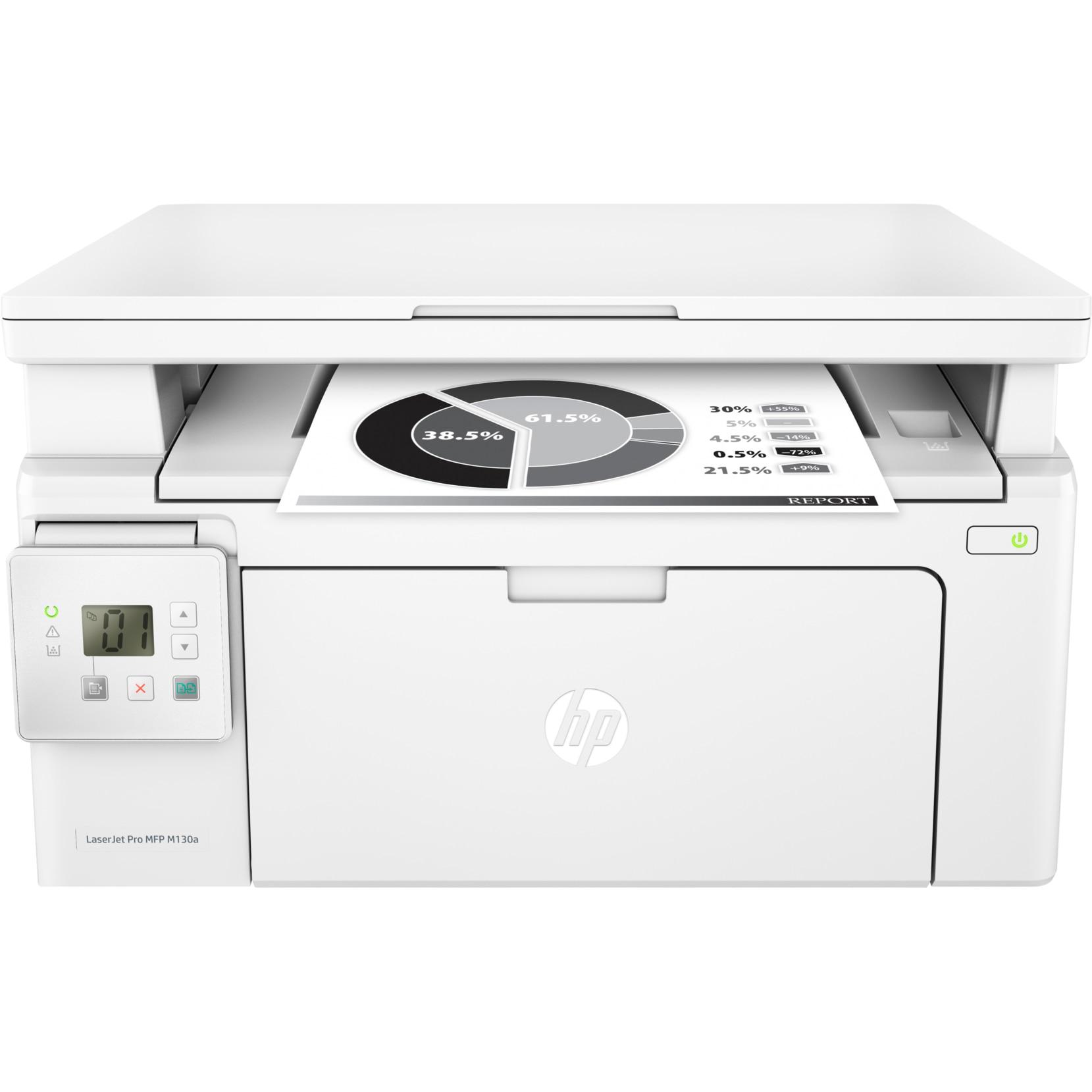 Fotografie Multifunctional laser monocrom HP LaserJet Pro MFP M130a, A4