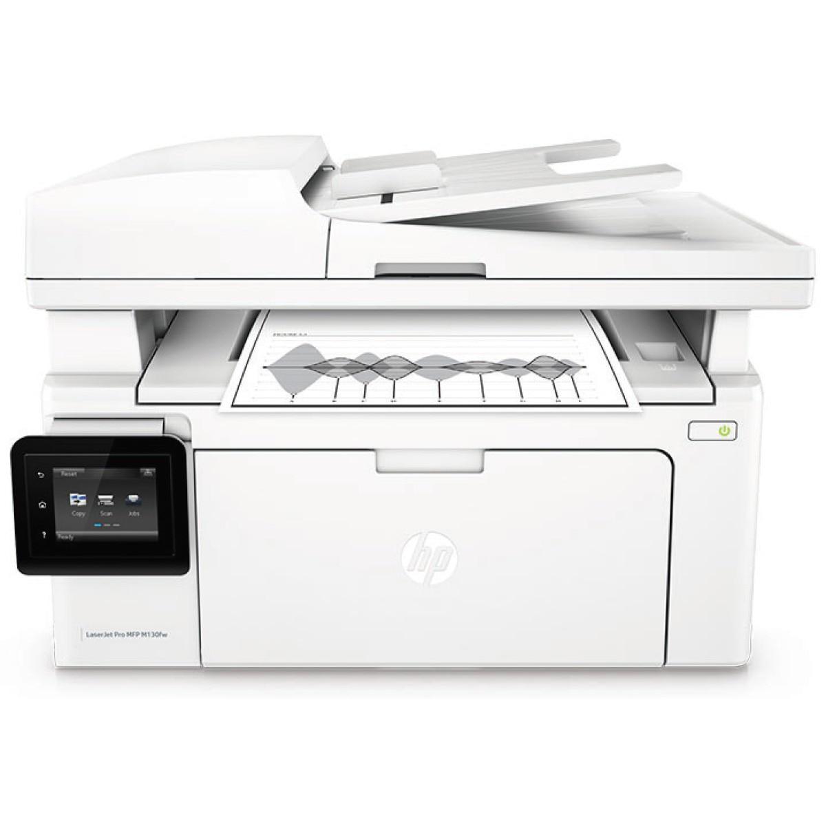 Fotografie Multifunctional laser monocrom HP LaserJet Pro MFP M130fw Printer, A4