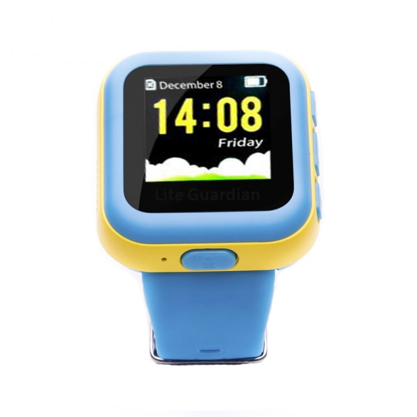 Fotografie Smartwatch E-BODA Kids cu GPS, SIM, Wi-Fi, monitorizare copii, Albastru