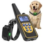 Телетакт, електронен нашийник каишка с електроимпулси вибрация и звук за обучение и дресура на куче, водоустойчив, до 800 метра обхват
