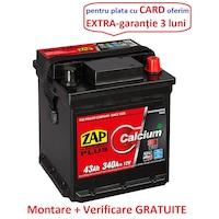 Baterie auto Zap Plus 43Ah