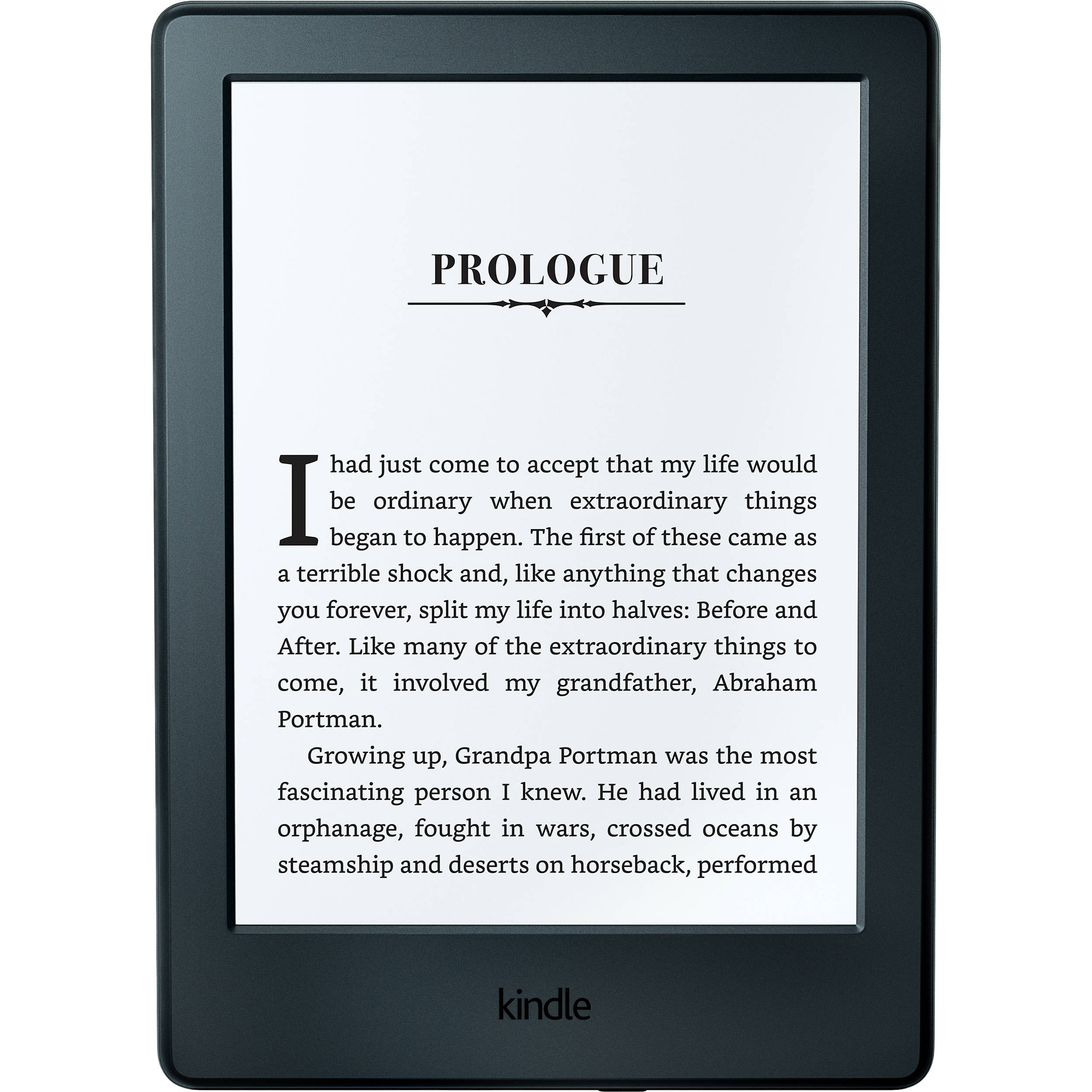 Fotografie eBook Reader New Kindle Glare 6, Touch Screen, 8th Generation, Wi-Fi, Negru