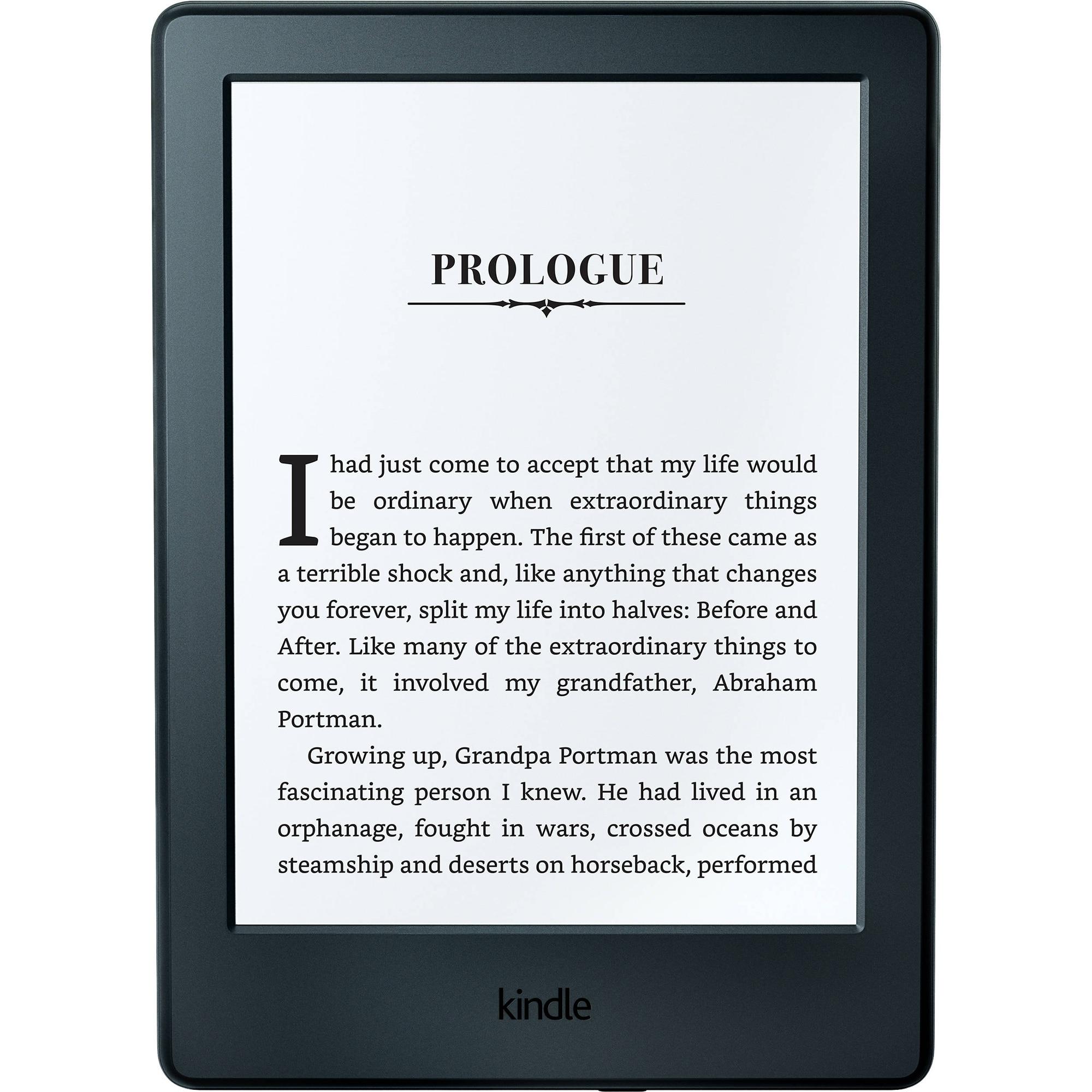 Fotografie eBook Reader New Kindle Glare 6, Touch Screen, 8th Generation, Wi-Fi, Negru
