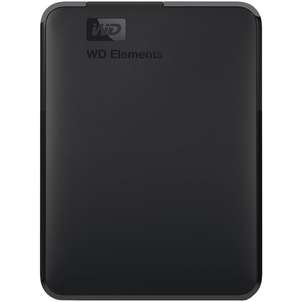 "Fotografie HDD extern WD Elements Portable, 2TB, 2.5"", USB 3.0, Negru"