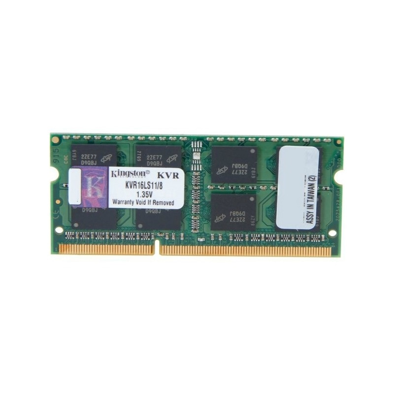 Fotografie Memorie Kingston 8GB, 1600MHz, DDR3 Non-ECC CL11 SODIMM