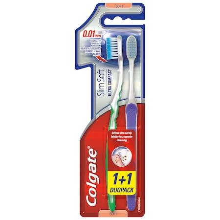 Четка за зъби Colgate Slim Soft, 2 броя