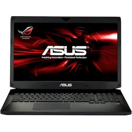 "Laptop Gaming ASUS G750JY-T4036D cu procesor Intel® Core™ i7-4710HQ 2.50GHz, Haswell™, 17.3"", Full HD, 24GB, 1TB + 2 x 128GB SSD, Blu-Ray, nVIDIA GeForce GTX 980M 8GB, Free DOS, Black"