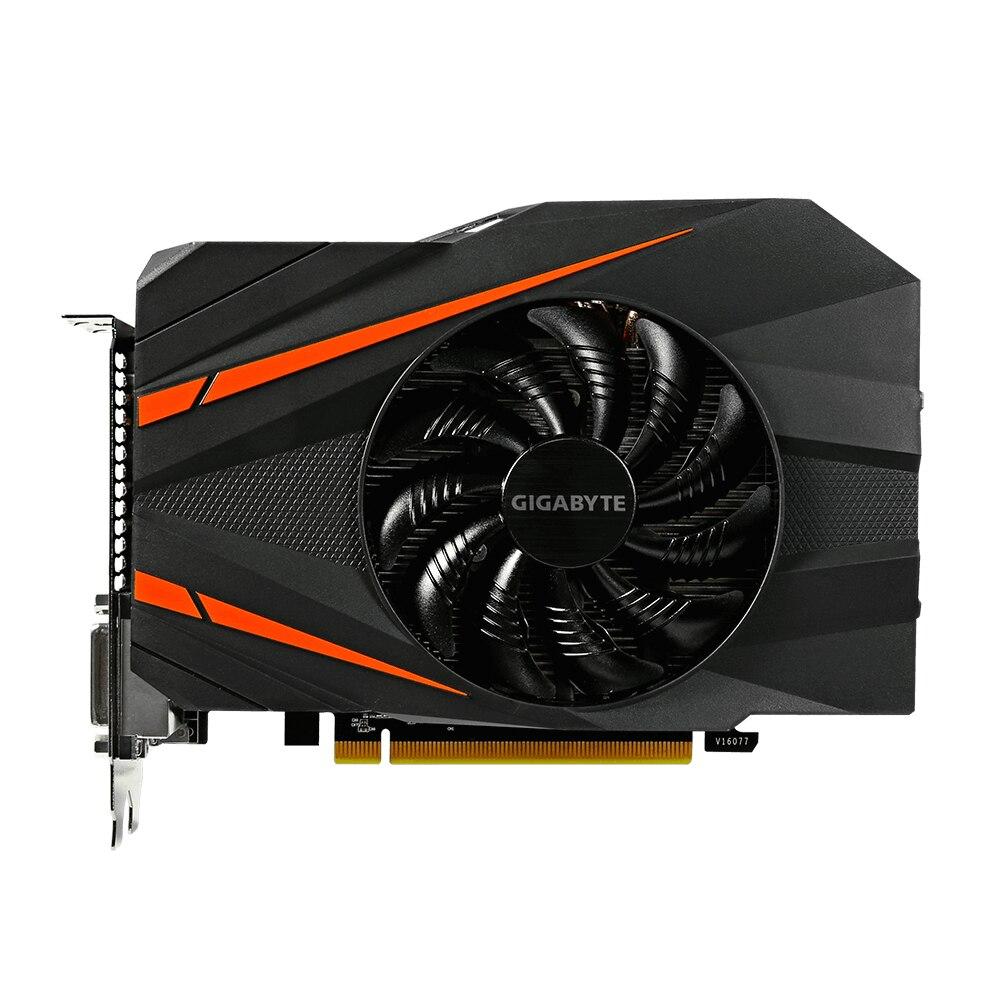 Fotografie Placa video GIGABYTE GeForce® GTX 1060 Mini ITX OC, 6GB GDDR5, 192-bit