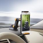 GropGo Univerzális autós telefon tartó, tablet tartó, narancs (55029OR) - 00083346